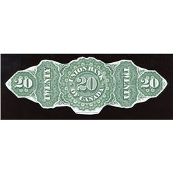 Union Bank of Canada $20, 1893