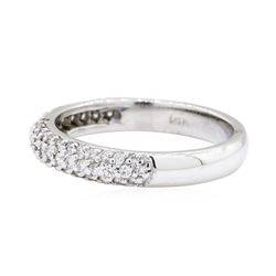 0.5 ctw Diamond Ring - 14KT White Gold