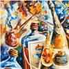Image 2 : Bottle Jazz IV by Afremov, Leonid