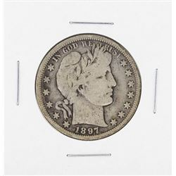 1897-S Barber Half Dollar Coin