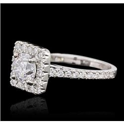 14KT White Gold 1.97 ctw Brilliant Cut Diamond Ring