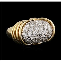 18KT Yellow Gold 1.34 ctw Diamond Ring
