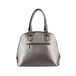 Metallic  Silver Rush Handbag