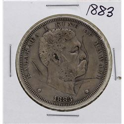 1883 $1 Kingdom of Hawaii Dollar Coin