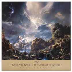 When You Walk in the Company of Angels by Terbush, Dale