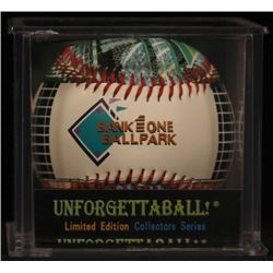 Unforgettaball!  Bank One Ballpark  Collectable Baseball