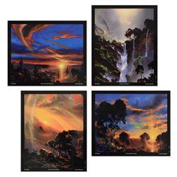 Set of 4 Dale Terbush by Terbush, Dale