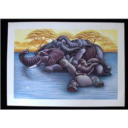 Mom by G.R. Cassarino Disney Artist