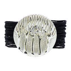 Multi Strand Bracelet - Rhodium Plated