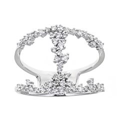 0.51 ctw Diamond Ring - 18KT White Gold