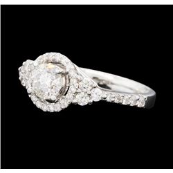 1.31 ctw Diamond Ring - 14KT White Gold