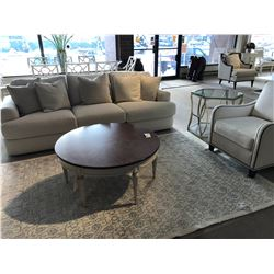 LIVING ROOM SET INCLUDING LEXINGTON HALLANDALE SOFA, COCOA ARM CHAIR, DOVER ARM CHAIR, ROUND