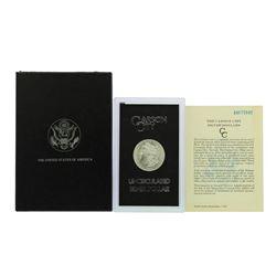 1884-CC $1 Morgan Silver Dollar Coin Uncirculated GSA w/ Box & COA