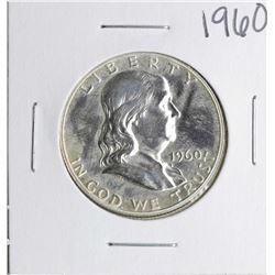 1960 Proof Franklin Half Dollar Coin