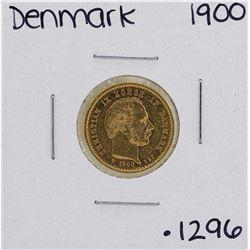 1900 Denmark Christian IX 10 Kroner Mermaid Gold Coin