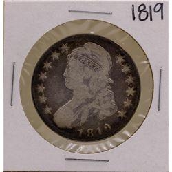 1819 Capped Bust Half Dollar Coin