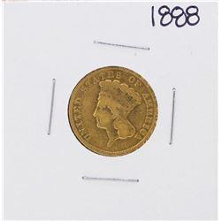 1888 $3 Indian Princess Head Gold Coin
