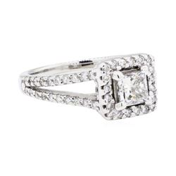 14KT White Gold 1.21 ctw Diamond Ring
