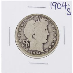 1904-S Barber Half Dollar Coin
