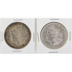 Lot of 1889 & 1897 $1 Morgan Silver Dollar Coins
