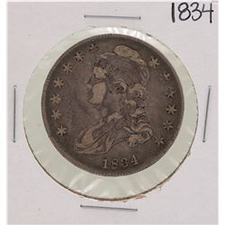 1834 Small Date Small Letters Capped Bust Half Dollar Coin