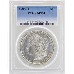 1883-O $1 Morgan Silver Dollar Coin PCGS MS64+