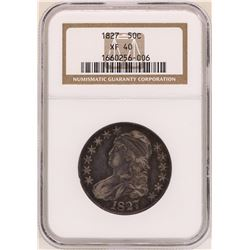 1827 Capped Bust Half Dollar Coin NGC XF40