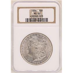 1896 $1 Morgan Silver Dollar Coin NGC MS62