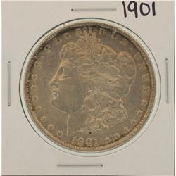 1901 VAM6 $1 Morgan Silver Dollar Coin