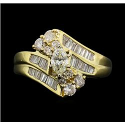 14KT Yellow Gold 1.03 ctw Diamond Ring
