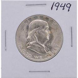 1949 Franklin Half Dollar Coin