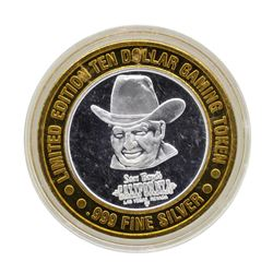 .999 Silver Sam Boyd's California Hotel $10 Casino Limited Edition Gaming Token