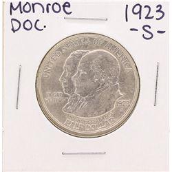 1923-S Monroe Doctrine Commemorative Half Dollar Coin