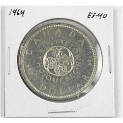 1964 Canada Silver Dollar EF40