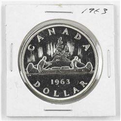 1963 Canada Silver Dollar.