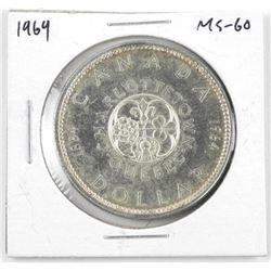 1964 Canada Silver Dollar MS-60