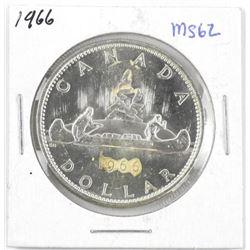 1966 Canada Silver Dollar MS62