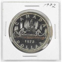 1972 Canada Silver Dollar.