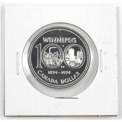 1874-1974 Canada Silver Dollar.