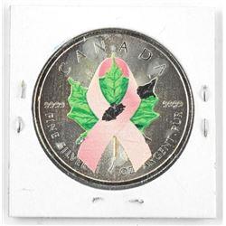 2014 .9999 Fine Silver Pink Ribbon