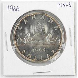1966 Canada Silver Dollar MS-63