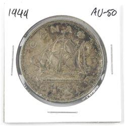 1949 Canada Silver Dollar. AU-50