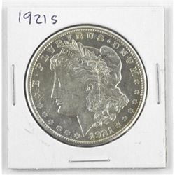 1921 - (S) USA Silver Morgan Dollar