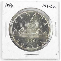 1966 Canada Silver Dollar MS-60
