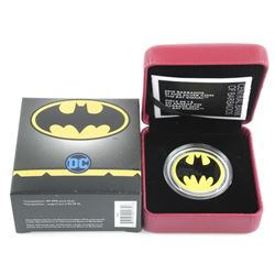 RCM .9999 Fine Silver 1.00 Coin 'The Bat Signal' L