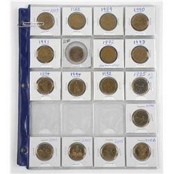 Lot (23) Loon Dollars 1987-2010 - Few Dates Missin