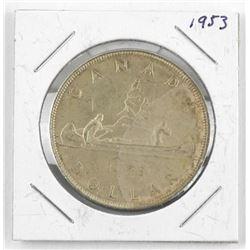 1953 Canada Silver Dollar.