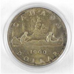 1960 Canada Silver Dollar.