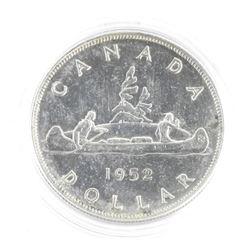 1952 Canada Silver Dollar