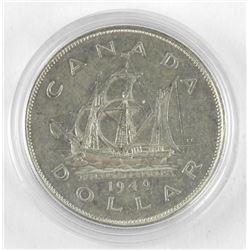 1949 Canada Silver Dollar.